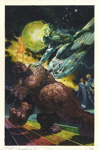 11 Silver Surfer vs The Thing DEF