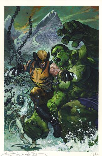 9 wolverine vs hulk def